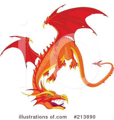 Dragon Clipart #213890 by Pushkin