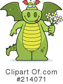 Dragon Clipart #214071 by Cory Thoman