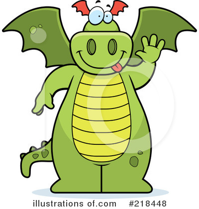 Dragon Clipart #218448 by Cory Thoman