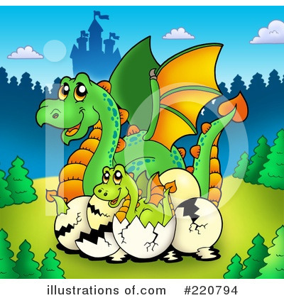 Dragon Clipart #220794 by visekart