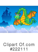 Dragon Clipart #222111 by visekart