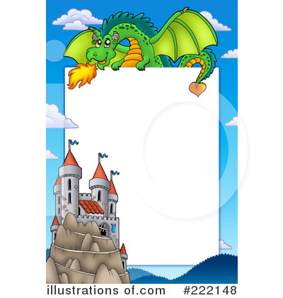 Dragon Clipart #222148 by visekart