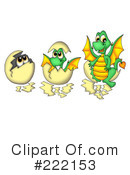 Dragon Clipart #222153 by visekart