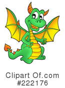 Dragon Clipart #222176 by visekart