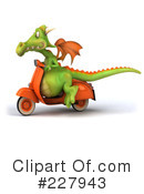 Royalty-Free (RF) Dragon Clipart Illustration #227943