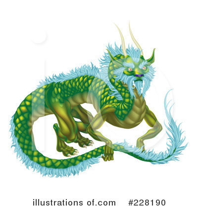 Dragon Clipart #228190 by AtStockIllustration