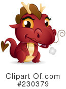Royalty-Free (RF) Dragon Clipart Illustration #230379