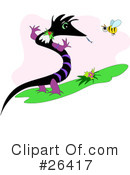 Royalty-Free (RF) Dragon Clipart Illustration #26417
