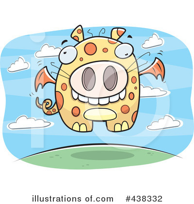 Dragon Clipart #438332 by Cory Thoman