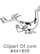 Royalty-Free (RF) Dragon Clipart Illustration #441805