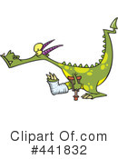 Royalty-Free (RF) Dragon Clipart Illustration #441832