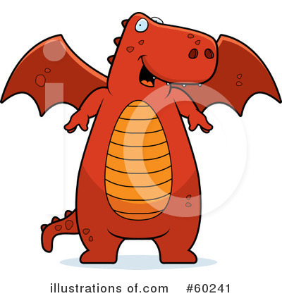 Dragon Clipart #60241 by Cory Thoman