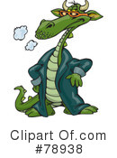 Dragon Clipart #78938 by Dennis Holmes Designs