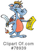 Dragon Clipart #78939 by Dennis Holmes Designs