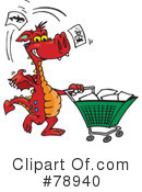 Dragon Clipart #78940 by Dennis Holmes Designs