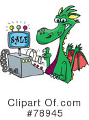 Dragon Clipart #78945 by Dennis Holmes Designs