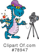 Dragon Clipart #78947 by Dennis Holmes Designs