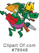Dragon Clipart #78948 by Dennis Holmes Designs