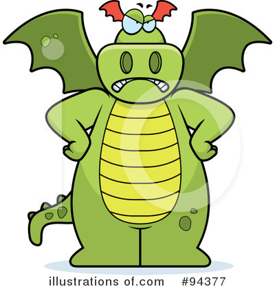 Dragon Clipart #94377 by Cory Thoman