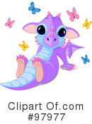 Royalty-Free (RF) Dragon Clipart Illustration #97977