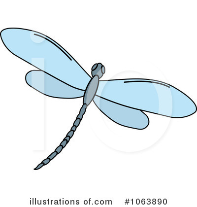 Dragonfly Clipart #1063890 by Vector Tradition SM