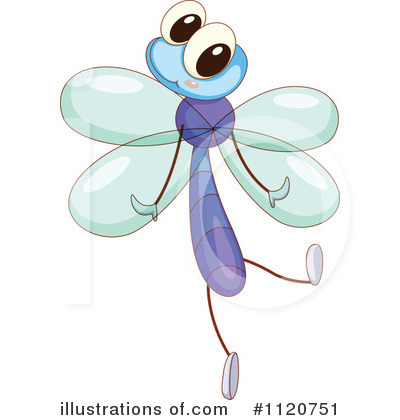 Dragonfly Clipart #1120751 by Graphics RF