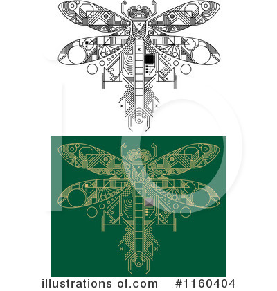 Dragonfly Clipart #1160404 by Vector Tradition SM
