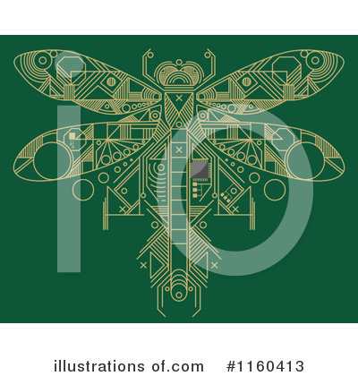 Dragonfly Clipart #1160413 by Vector Tradition SM