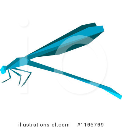 Dragonfly Clipart #1165769 by Vector Tradition SM
