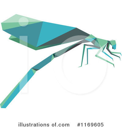 Dragonfly Clipart #1169605 by Vector Tradition SM