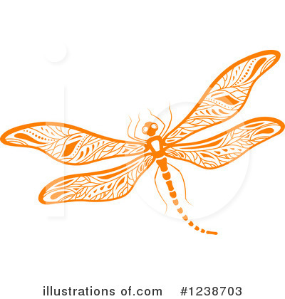 Dragonfly Clipart #1238703 by Vector Tradition SM