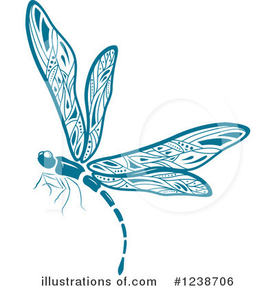Dragonfly Clipart #1238706 by Vector Tradition SM