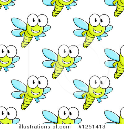 Dragonfly Clipart #1251413 by Vector Tradition SM