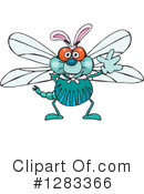 Dragonfly Clipart #1283366 by Dennis Holmes Designs