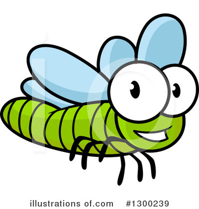 Dragonfly Clipart #1300239 by Vector Tradition SM