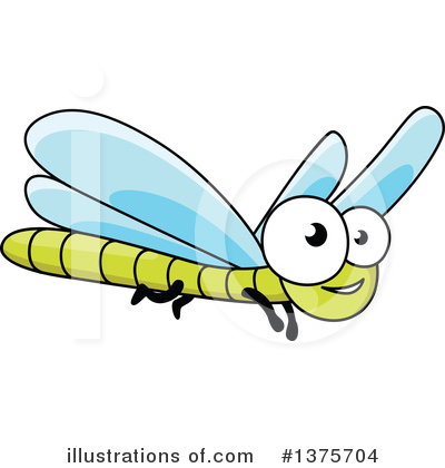 Dragonfly Clipart #1375704 by Vector Tradition SM