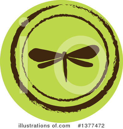 Royalty-Free (RF) Dragonfly Clipart Illustration by Cherie Reve - Stock Sample #1377472