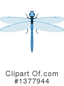 Royalty-Free (RF) Dragonfly Clipart Illustration #1377944