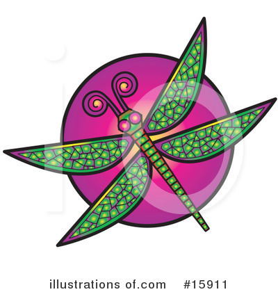 Dragonfly Clipart #15911 by Andy Nortnik