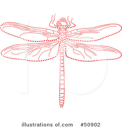Dragonfly Clipart #50902 by Cherie Reve