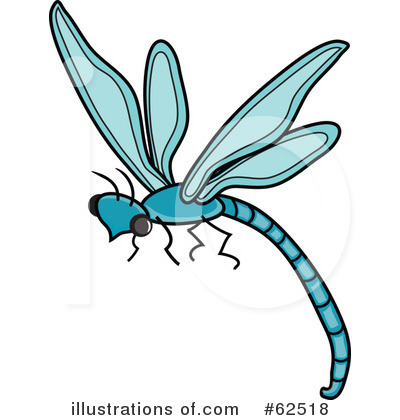 Dragonfly Clipart #62518 by Pams Clipart