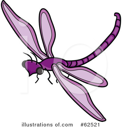 Dragonfly Clipart #62521 by Pams Clipart