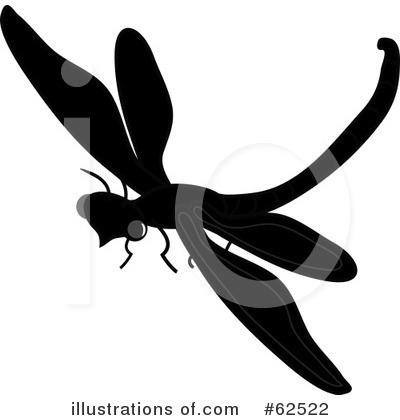 Royalty-Free (RF) Dragonfly Clipart Illustration by Pams Clipart - Stock Sample #62522