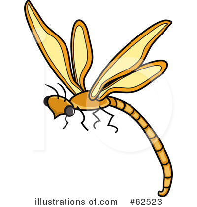 Dragonfly Clipart #62523 by Pams Clipart