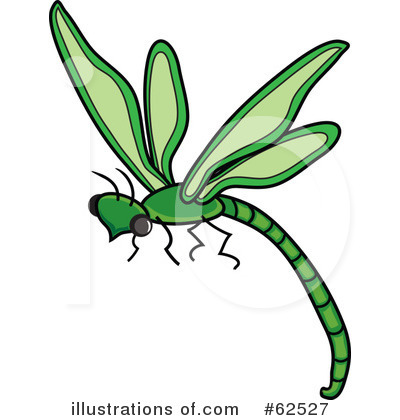 Dragonfly Clipart #62527 by Pams Clipart