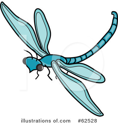 Dragonfly Clipart #62528 by Pams Clipart