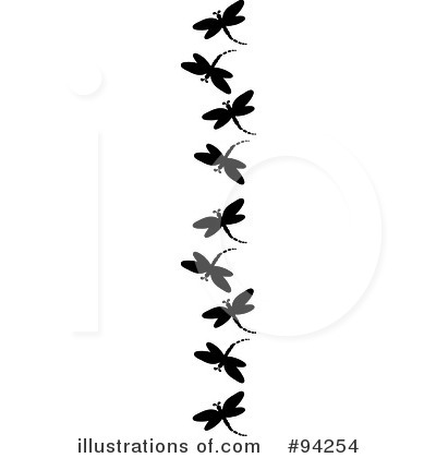 Dragonfly Clipart #94254 by Pams Clipart
