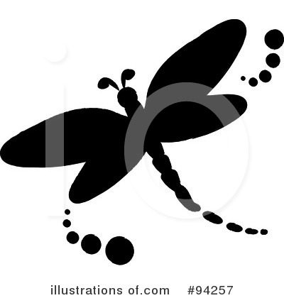 Royalty-Free (RF) Dragonfly Clipart Illustration by Pams Clipart - Stock Sample #94257