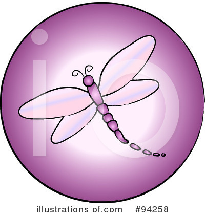 Dragonfly Clipart #94258 by Pams Clipart