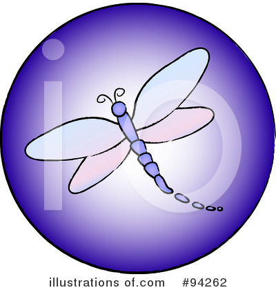 Dragonfly Clipart #94262 by Pams Clipart